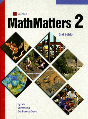MathMatters: Book 2, Student Edition (9780538686617) by McGraw-Hill