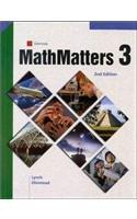 9780538686631: MathMatters: Book 3, Student Edition