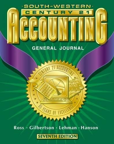 9780538687355: Century 21 Accounting: General Journal