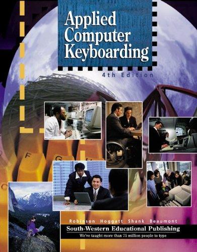 9780538687591: Applied Computer Keyboarding