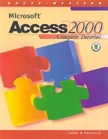 9780538688420: Microsoft Access 2000 Complete Tutorial