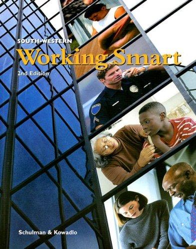 Working Smart: Madelyn Schulman; Bonnie