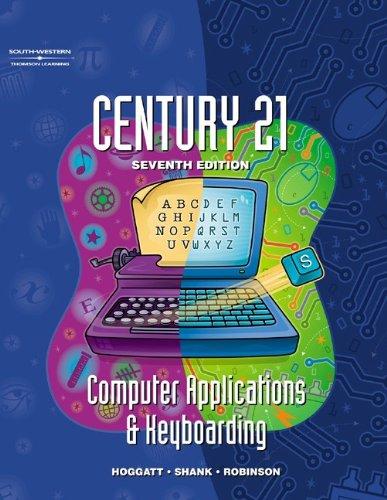 9780538691529: Century 21 Computer Applications & Keyboarding