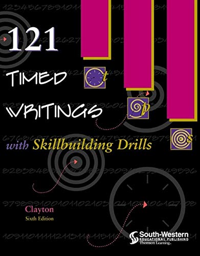 9780538692403: 121 Timed Writings with Skillbuilding Drills