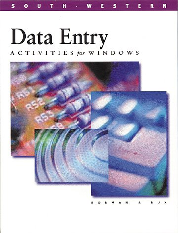 9780538693080: Data Entry Activities for Windows : Book/Individual Program Disk Package
