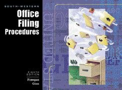 9780538693301: South-Western Office Filing Procedures: To accompany Business Record Control
