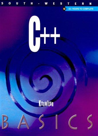 9780538694933: C++ Basics