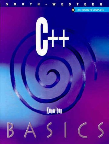 9780538694940: C++ BASICS (Begin and Succeed in Computer Science) : Book w/ Data CD Pkg