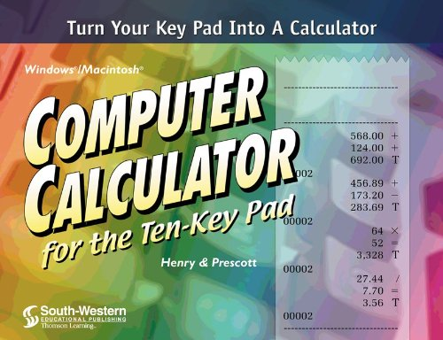 9780538695435: Computer Calculator for the Ten-Key Pad