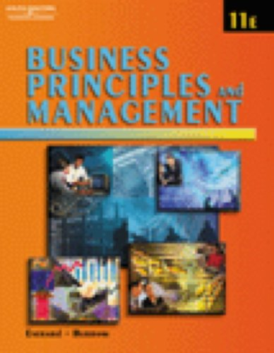 Business Principles and Management: Everard, Kenneth E.,