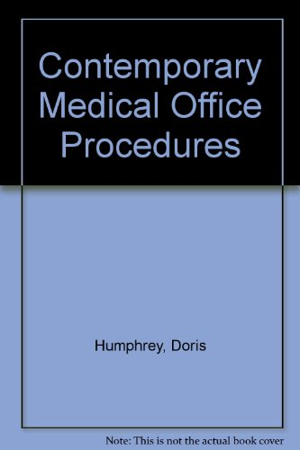 9780538700153: CONTEMPORARY MEDICAL OFFICE PROCEDURES -1990 publication.