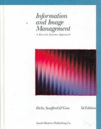 Information and Image Management: A Records Systems: Betty Roper Ricks,
