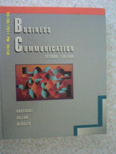 Business Communication: Jules Harcourt, A.C.