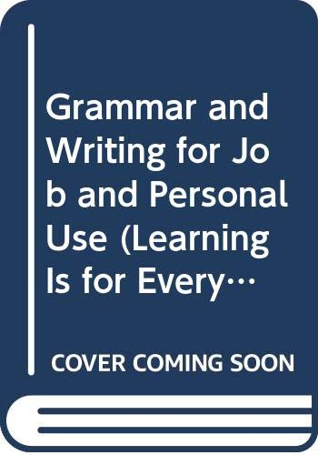 Grammar and Writing for Job and Personal: Joyce Hing-McGowan, Merle