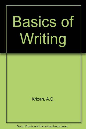 9780538705578: BASICS OF WRITING
