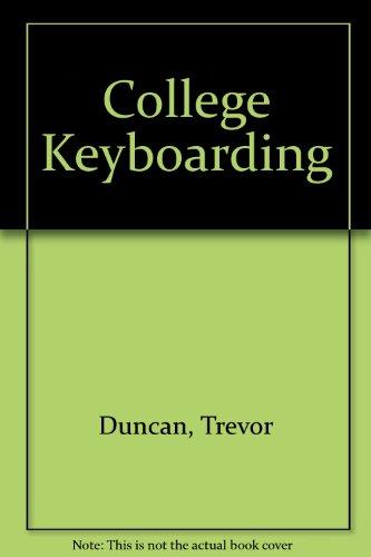 9780538708067: College Keyboarding