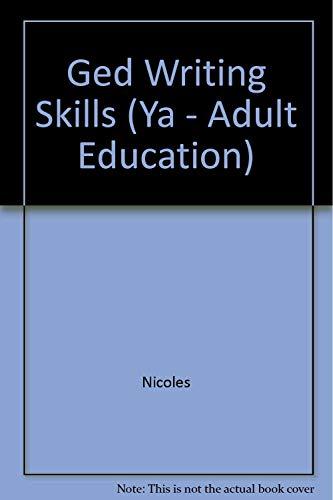 9780538710831: Ged Writing Skills (Ya - Adult Education)