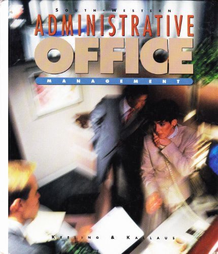 Stock image for Administrative Office Management for sale by Bayside Books