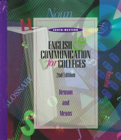 Communication - English Ser.: English and Communication: Carol Henson and