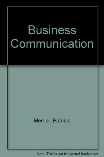 Business Communications: Jules Harcourt; A.