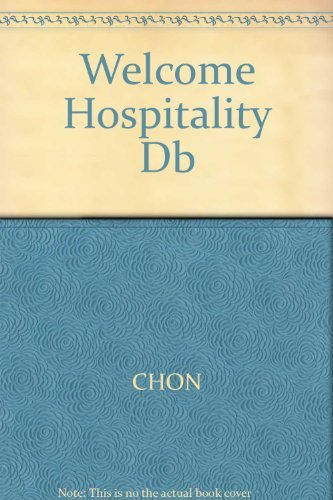 9780538712460: Welcome to Hospitality: An Introduction