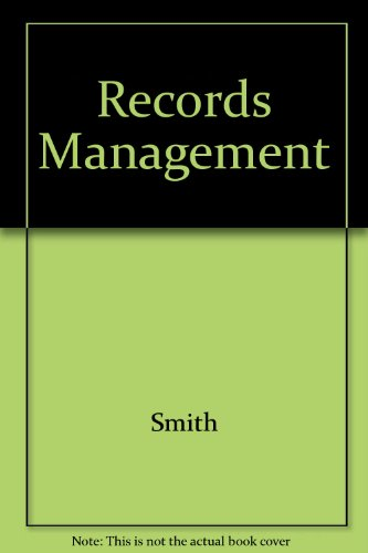 9780538714396: Records Management: Study Guide