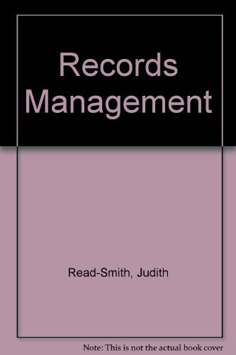 9780538717236: Records Management: Text/Data Disk Package