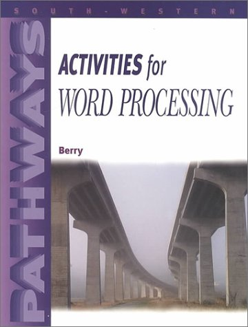 9780538720298: Pathways: Activities for Word Processing