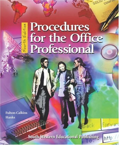 9780538722124: Procedures for the Office Professional: Text/Data Disk Package