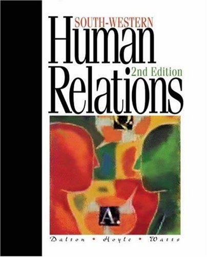 9780538722230: Human Relations