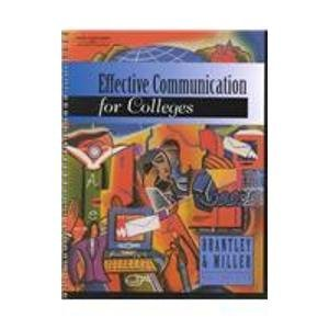 9780538724579: Effective Communication for Colleges