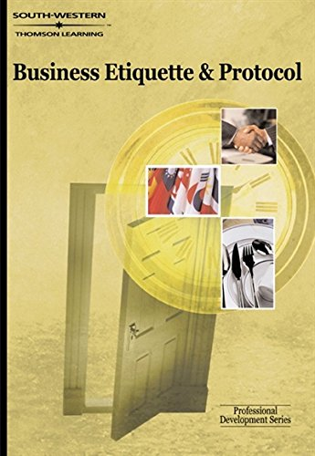 9780538724630: Business Etiquette & Protocol: Professional Development Series