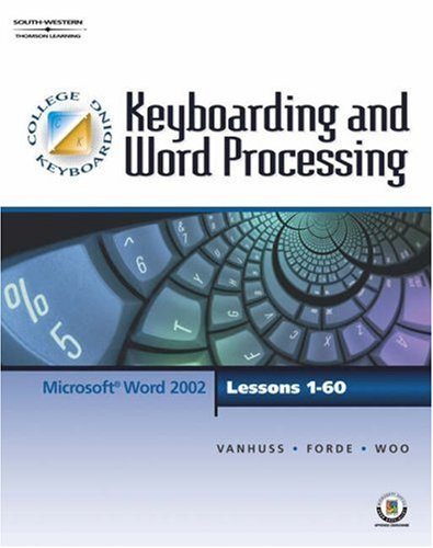 keyboarding word processing lessons 1 60 college keyboarding