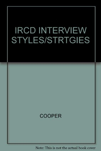 9780538725941: Interview Styles And Strategies