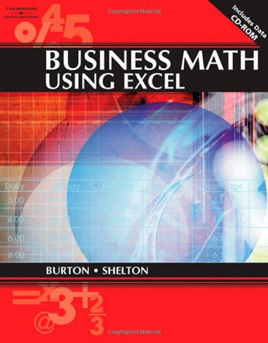 9780538726016: Business Math Using Excel (Applied Mathematics)