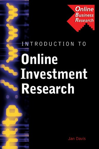 9780538726818: Introduction to Online Investment Research (Business Research Solutions Series)