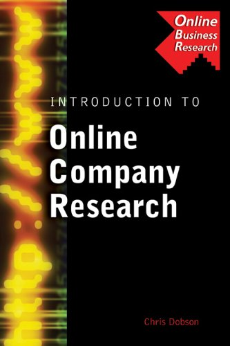 Introduction to Online Company Research: Dobson, Chris