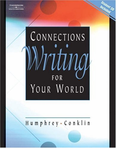 9780538727501: Connections: Writing for Your World (with CD-ROM)