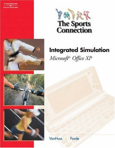 9780538727655: Sports Connection for Office XP: Integrated Simulation