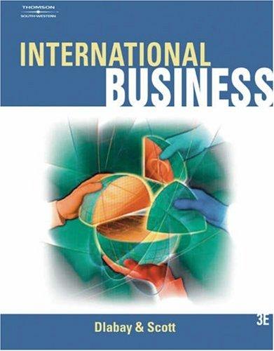 International Business by Dlabay, Les; Scott, James Calvert ...