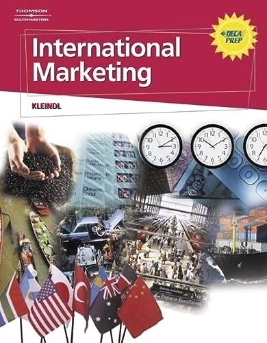 9780538729154: International Marketing