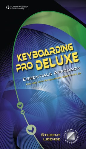 Keyboarding Pro DELUXE Essentials, Version 1.2, Lessons 1-120 (0538730064) by South-Western Educational Publishing
