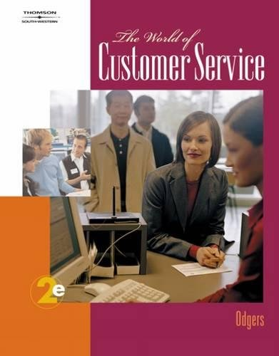 9780538730464: The World of Customer Service