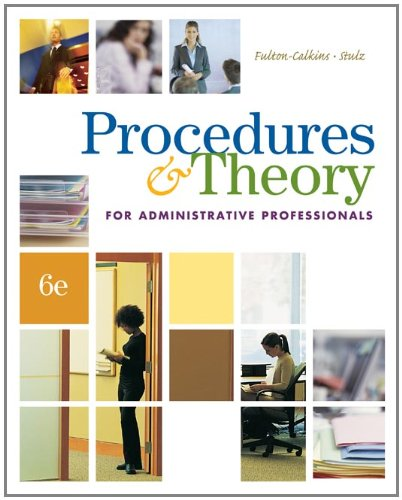 9780538730525: Procedures & Theory for Administrative Professionals (with CD-ROM) (Administrative Support Concepts)