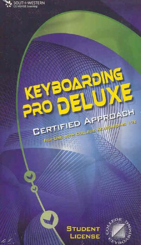 Keyboarding Pro DELUXE Certified Version 1.3, Lessons 1-120 (0538730633) by South-Western Educational Publishing