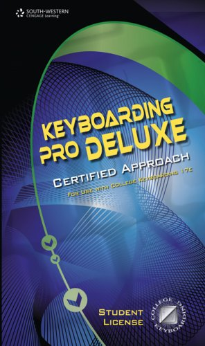 Keyboarding Pro Deluxe, Certified Version 1.3, Lessons 1-120 (with Individual Site License User Guide) (0538731281) by South-Western Educational Publishing