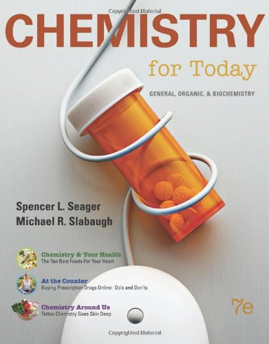 9780538733328: Chemistry for Today: General, Organic, and Biochemistry