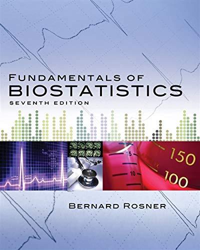 9780538733496: Fundamentals of Biostatistics (Rosner, Fundamentals of Biostatics)