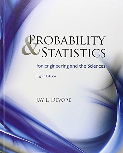 9780538733526: Probability and Statistics for Engineering and the Sciences