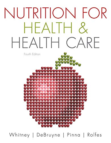 Nutrition for Health and Health Care 9780538733571 Current, practical information in a real-world context for future nurses and health care professionals. Designed for the clinical nutrition and/or diet therapy nutrition course, NUTRITION FOR HEALTH AND HEALTH CARE is a trusted text that demonstrates the important role of nutrition to future nurses and health care professionals in their future careers. The text begins by covering basic nutrition concepts and followed by clinical topics organized by organ systems, linking nutrition to different disease states, such as diabetes, renal disease, and liver disorders. Each chapter includes practical information, current research, and clinical practice guidelines for addressing nutrition concerns and incorporating nutrition into care plans. Valuable supplements accompany this text to help instructors prepare for class and to help students succeed in their course.